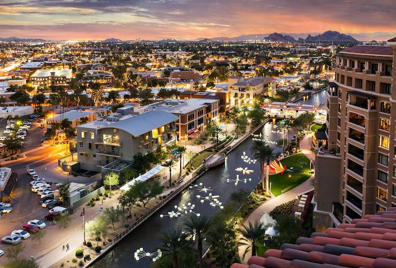 downtown scottsdale waterfront