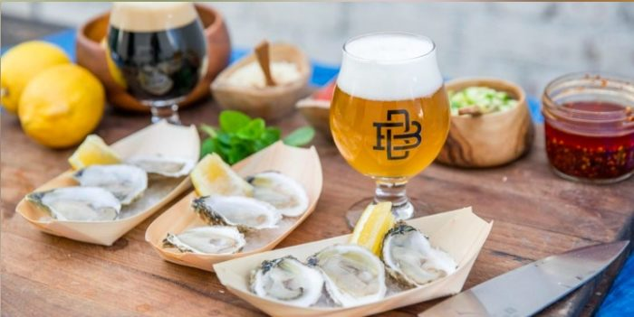 Oysters and Beer Pairing at Boomtown Brewing