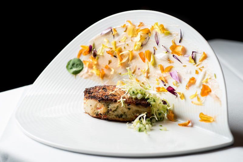 Heart of Palm Crab Cake