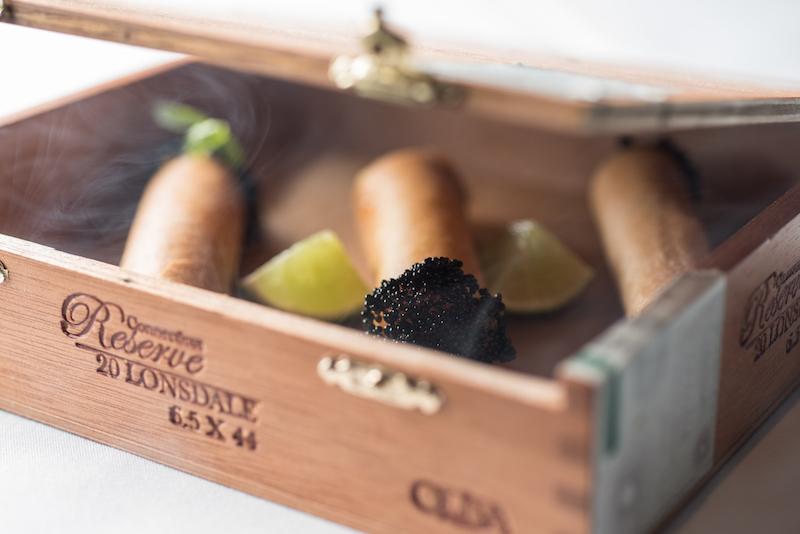 Tuna Cigar Box