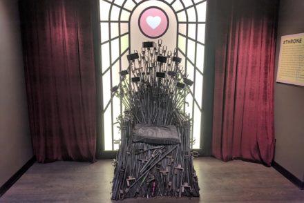 Iron Throne of Selfies