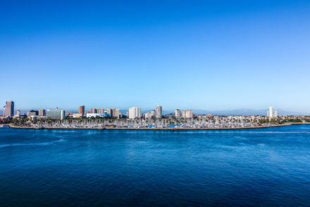 View of Downtown Long Beach