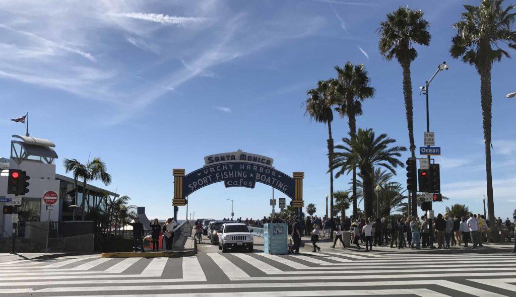Ocean Avenue Santa Monica