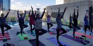 Speak Easy Yoga at Hotel Indigo DTlLA