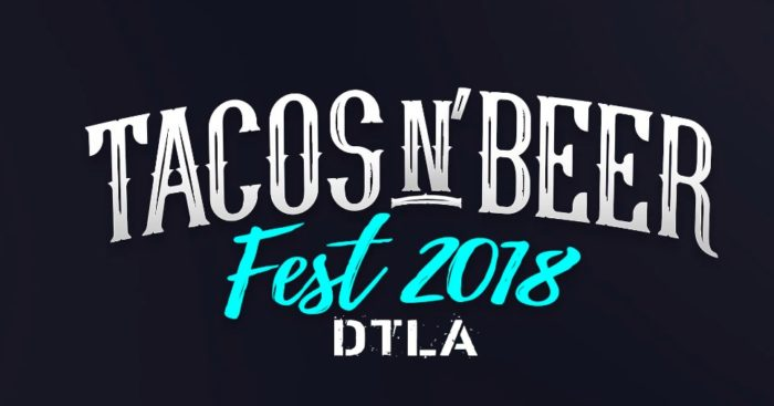 Tacos And Beer Festival At Pershing Square In Dtla