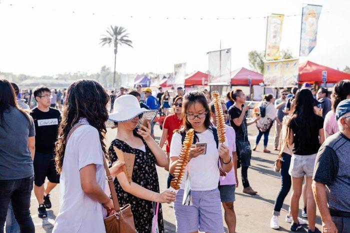 626 Night Market Returns To Santa Anita