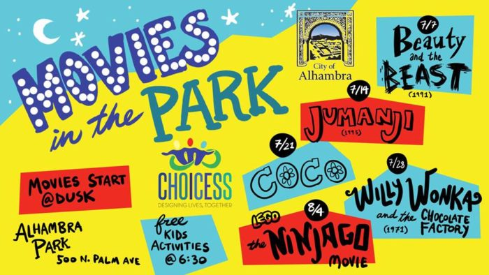 Alhambra Free Movies in the Park
