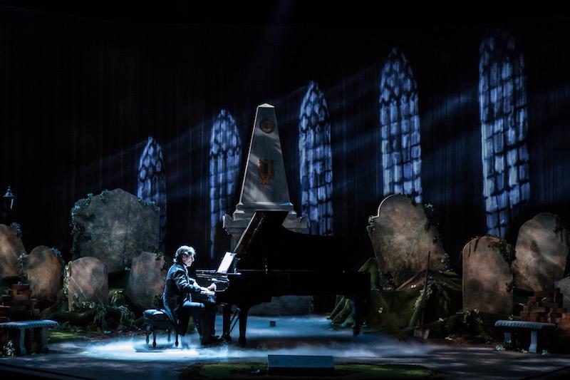 Hershey Felder: Beethoven. Photo Credit: Christopher Ash.