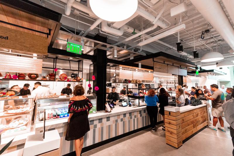 The Fields LA food hall
