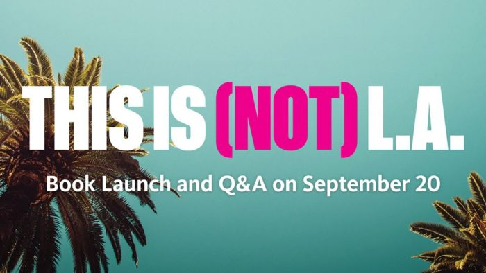 This is Not LA book launch at NHM