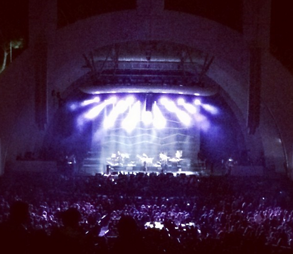 Atoms for Peace at the Hollywood Bowl