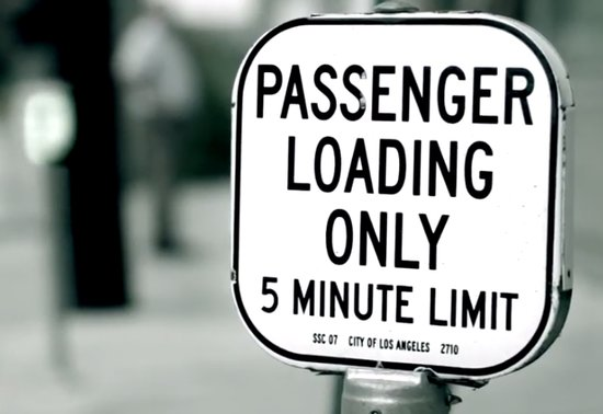 Passenger Loading White Zones