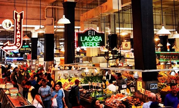 Grand Central Market in Los Angeles