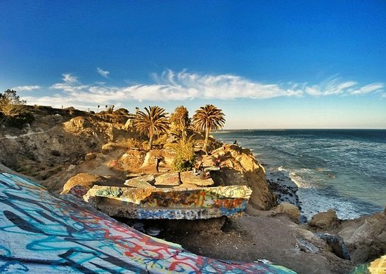 The Sunken City in San Pedro