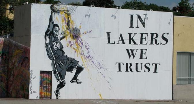 Lakers Street Mural