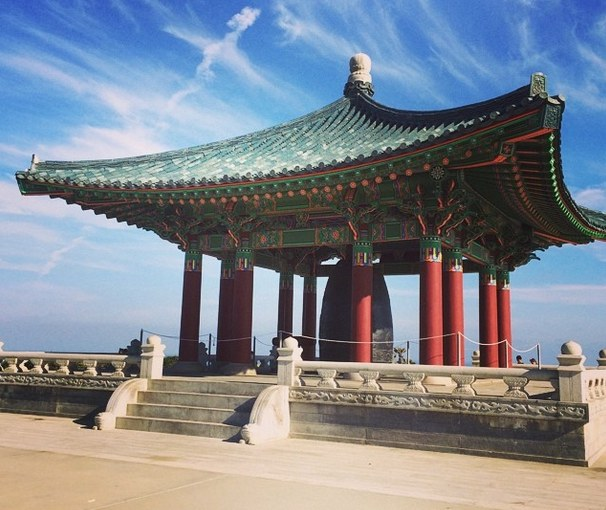 Korean Friendship Bell in San Pedro