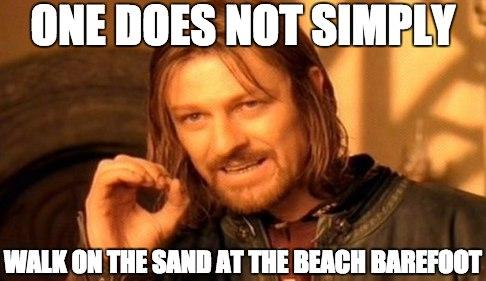 Hot Sand Meme