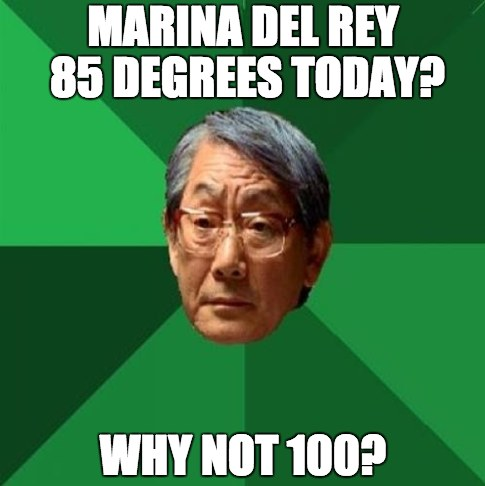 Asian Dad Weather Meme