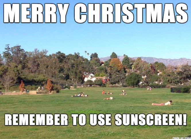 Merry Christmas Los Angeles Meme