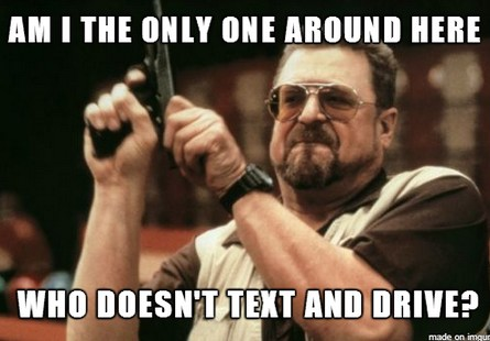 Texting and Driving Meme