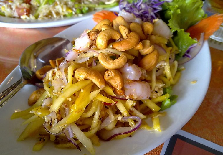 Jitlada Mango Salad with Shrimp