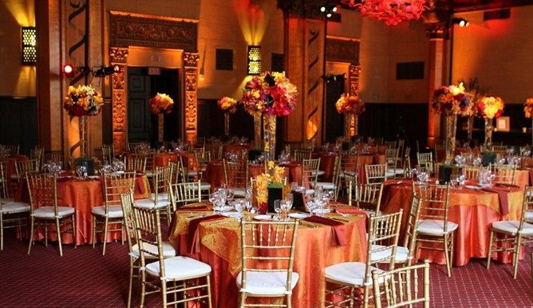 Park Plaza Hotel Los Angeles Wedding Reception