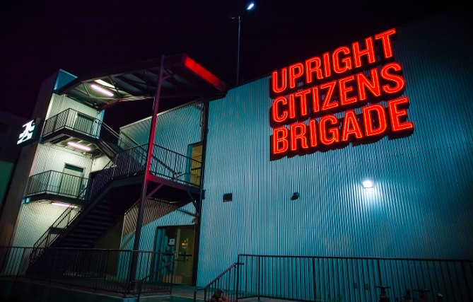 Upright Citizens Brigade Exterior