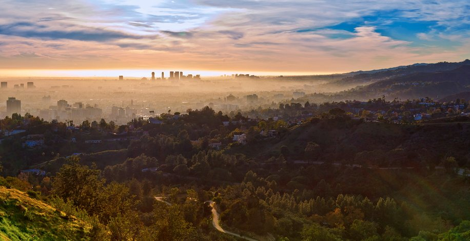 Griffith Park landscape photo
