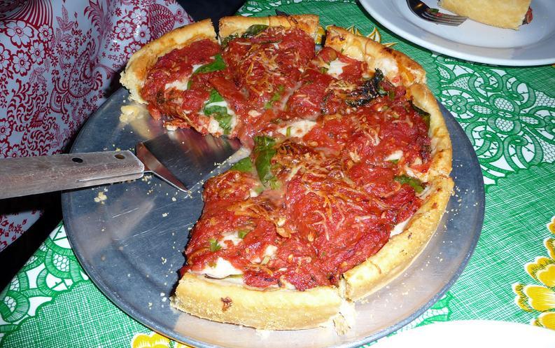 Deep Dish Pizza Masa of Echo Park