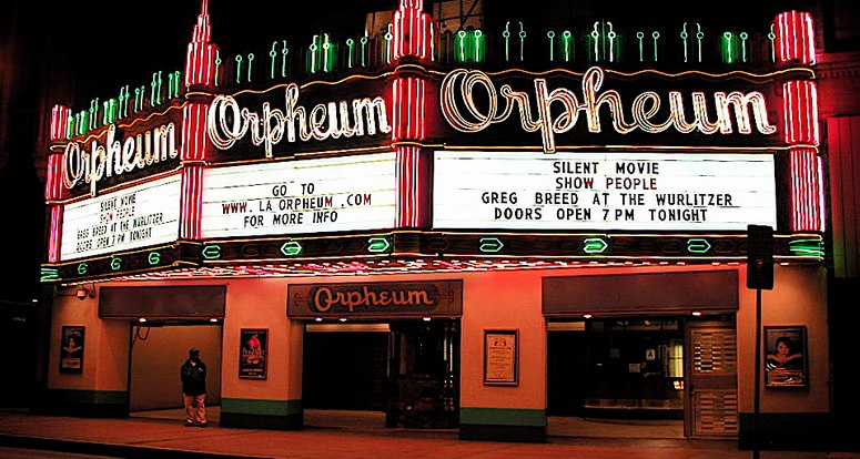 Orpheum Theater Los Angeles