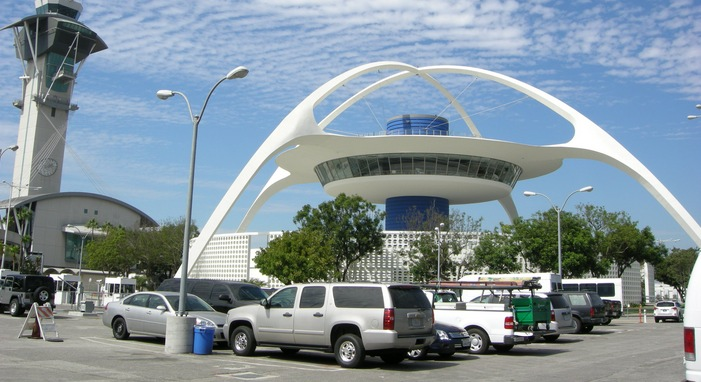 Parking Lot at LAX