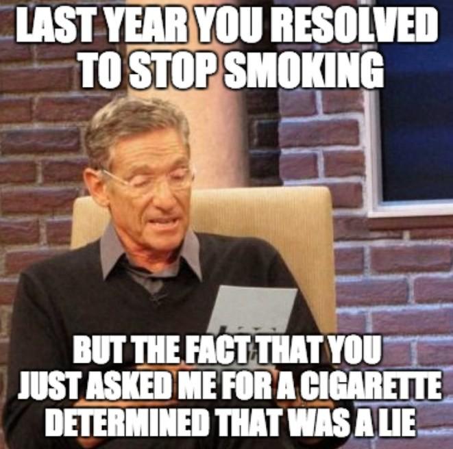 Stop Smoking Meme