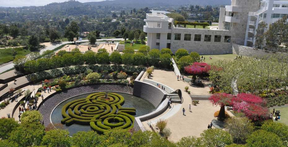 Getty Center Garden