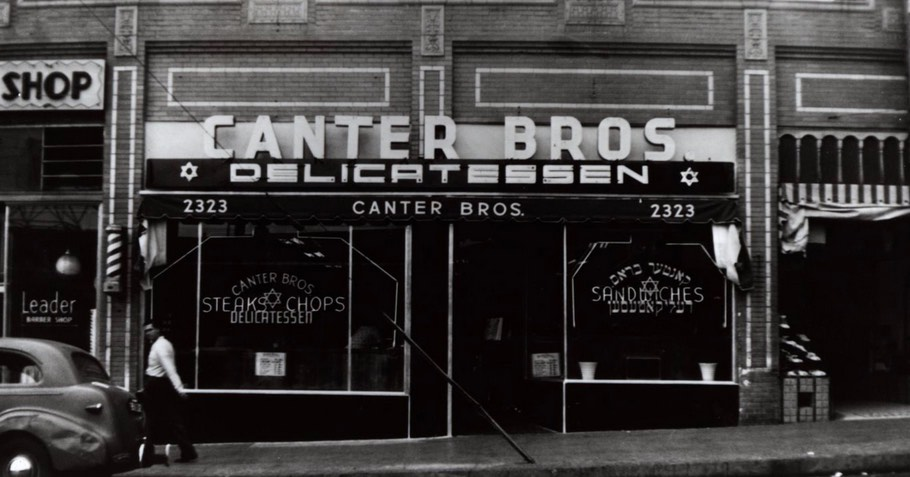 Canter's Deli in Los Angeles 1939