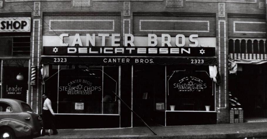 Canter's Deli in Los Angeles 1939