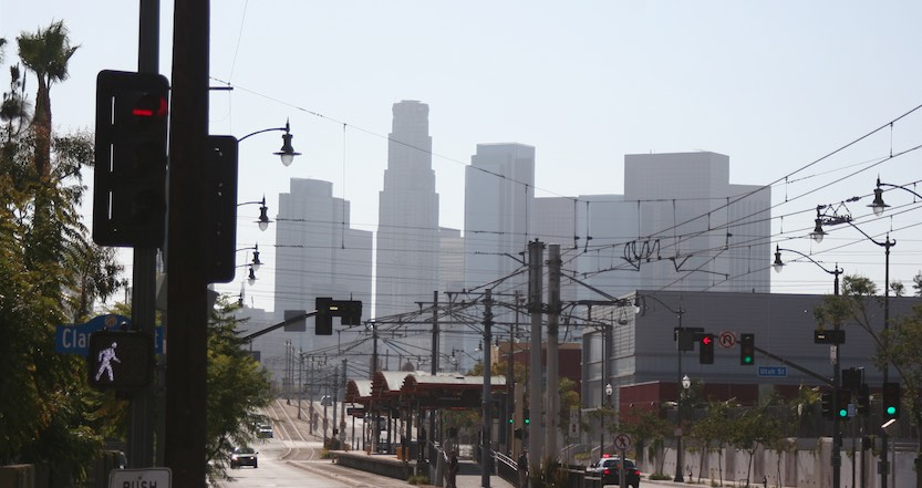 1st Street in Downtown Los Angeles