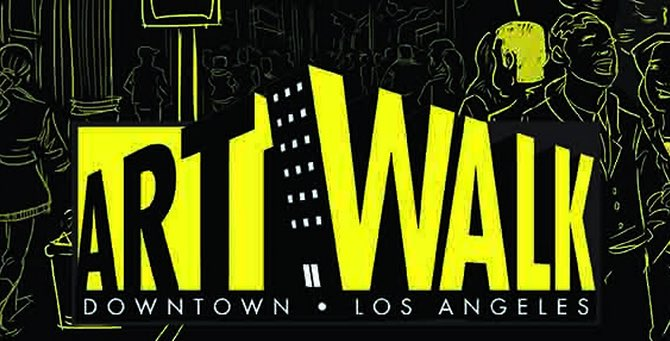 Downtown Art Walk in Los Angeles