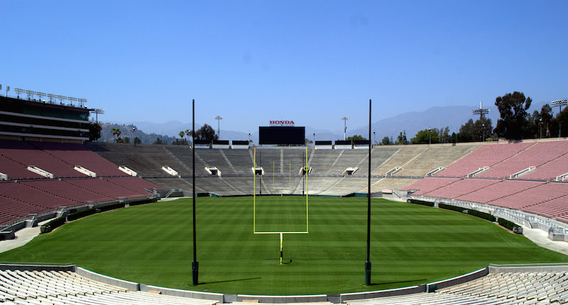 The Interior of The Rose Bowl