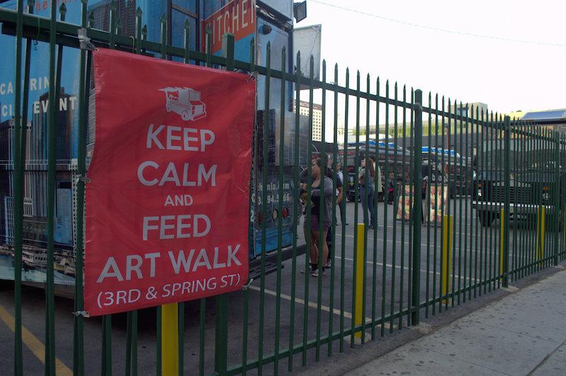 Keep Calm and Feed Art Walk