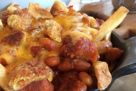 Porchetta Chili Cheese Fries