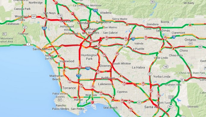 sig alert traffic map