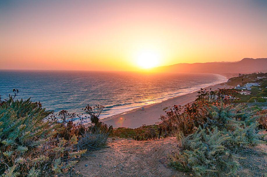 Sunset Point Dume Malibu