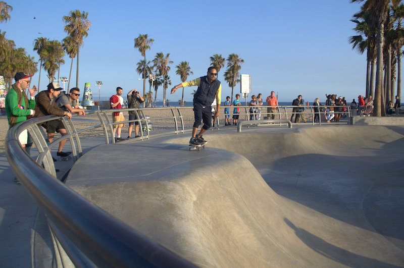 The Venice Beach Skatepark