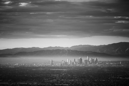 Storm Clouds Over Downtown L.A.