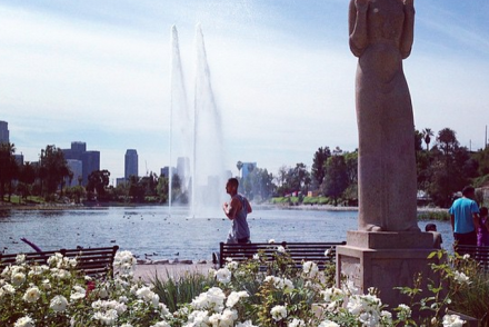 Echo Park Lake Featured