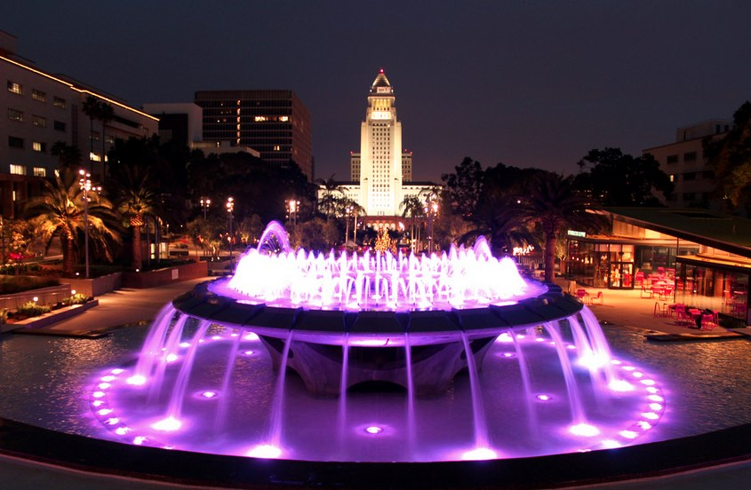 Grand Park Water Fountain