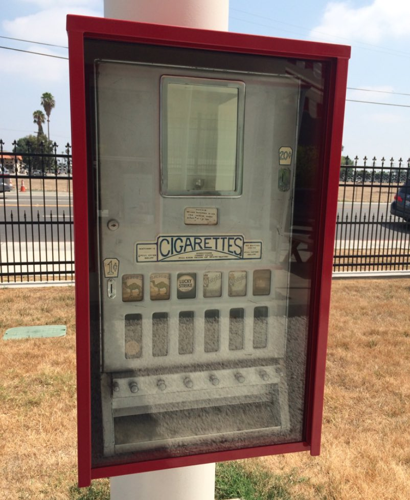 In N Out Cigarette Vending Machine