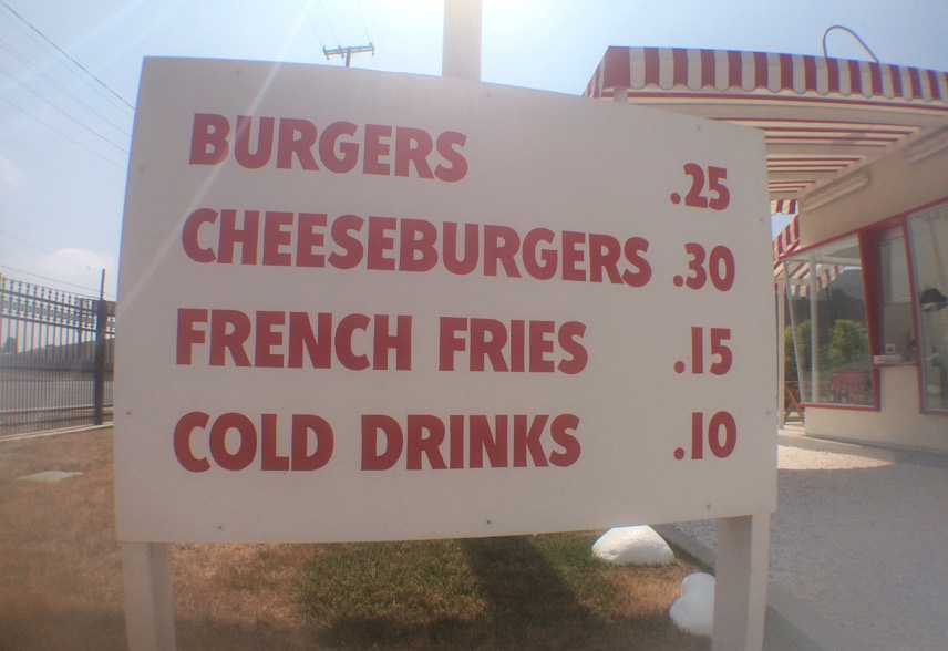 In N Out original prices