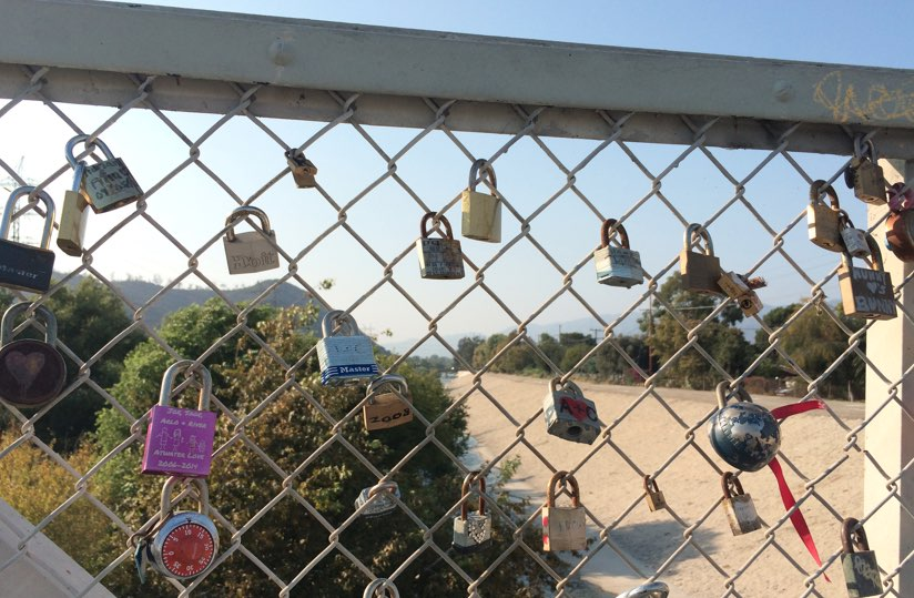 Sunnynook Love Lock Bridge Atwater Village