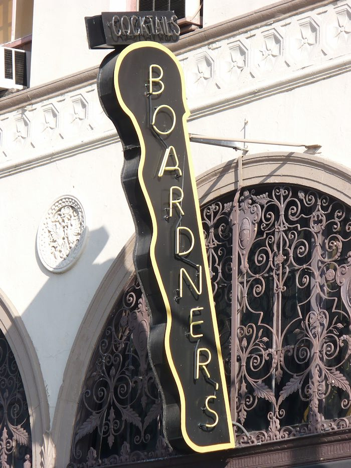 Boardners Neon Sign